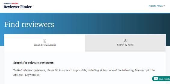 Reviewer Finder
